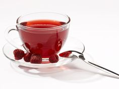 Raspberry Tea Treat - Recipe from KRUPS (also check out their cool new Personal Tea Kettle). #tea