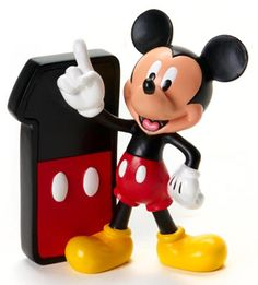 Disney's Mickey Mouse Birthday Numbers for Ages 0 to 9 also makes great Cake Topper - Figurines for a child's special Birthday!
