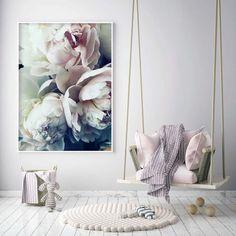 Canvas Poster, Canvas Art Prints, Canvas Wall Art, Canvas Frame, Flower Painting Canvas, Flower Canvas, Modern Art Prints, Modern Wall, Living Room Pictures