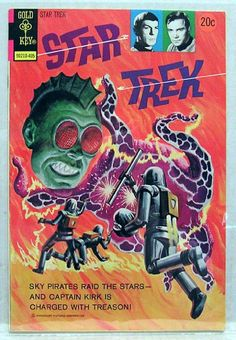 """Star Trek"" Issue 24 by Gold Key Comics"