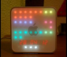 Mac Mini Used to Make LED Clock