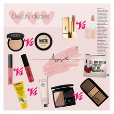"""""""Untitled #52"""" by ohoud-alshammari on Polyvore featuring beauty, Jane Iredale, Maybelline, Gucci, NYX, Yves Saint Laurent, NARS Cosmetics, Bobbi Brown Cosmetics, Rimmel and Christian Dior"""