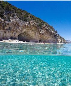 Praia Cala Luna, Sardenha, Itália