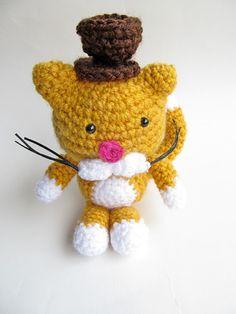 {An Amigurumi Cat Gentleman Crochet Pattern}
