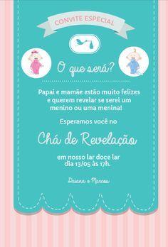 Realizando um Sonho | Blog de casamento e lar doce lar: Chá de Revelação do sexo do nosso bebê