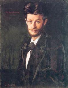 Georg Brandes malet af vennen og kunstneren Christian Krohg. 1879. Skagens Museums samling.