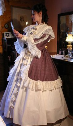 Calico Gown