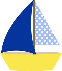 Sail boat Applique Templates, Applique Patterns, Nautical Clipart, Paper Art, Paper Crafts, Machine Embroidery Applique, Quilt Patterns Free, Cute Images, Baby Quilts