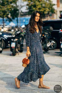 Milan SS 2019 Street Style: Chiara Totire - Street Fashion Trends and Beauty Tips Nyc Street Style, Street Style Trends, Street Style Summer, Street Style Looks, Street Styles, Fashion Mode, Street Fashion, Ladies Fashion, Womens Fashion