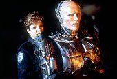 Nancy Allen and Peter Weller / RoboCop / 1987 directed by Paul Verhoeven [Orion Pictures Corporation] - Stock Photo