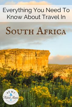 A South Africa guide for independent and solo female travelers, including off the beaten path places, road trips, and awesome treks.