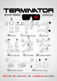 The Terminator Workout