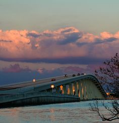 Sanibel Causeway Bridge. Sanibel Island, Florida