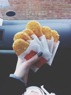 McDonald's hash browns, are amazing I don't care how old, or great you think you are.