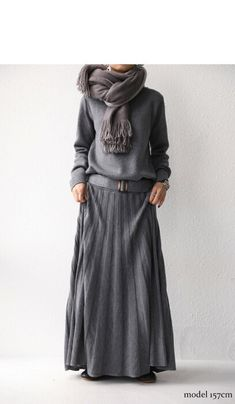 Mode Outfits, Fashion Outfits, Womens Fashion, Long Sweaters For Women, Estilo Hippy, Long Sweater Dress, Maxi Styles, Casual Fall Outfits, Minimal Fashion