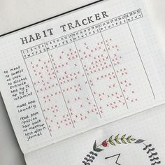 25 Bullet Journal Habit Tracker to help you develop better habits . - 25 bullet journal habit trackers to help you develop better habits – 25 habit tracker ideas for y - Bullet Journal Tracker, Bullet Journal Inspo, Bullet Journal Entries, Planner Bullet Journal, Minimalist Bullet Journal, Bullet Journal Aesthetic, Bullet Journal Writing, Bullet Journals, Monthly Bullet Journal Layout