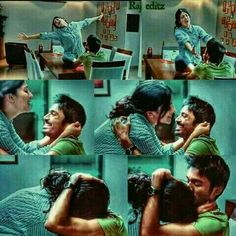 Tamil Movie Love Quotes, First Love Quotes, Favorite Movie Quotes, Love Quotes For Boyfriend, Cute Love Quotes, Cute Movie Scenes, Movie Pic, Love Movie, Love Couple Images