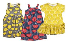 Spring for girls - all about bright pops of color, happy patterns.