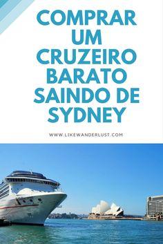 Com tantas opções de entretenimento em Sydney, difícil escolher o que fazer. E que tal dar uma volta por uma ilha paradisíaca no pacífico? E se for bem barato? Melhor ainda né? Veja a dica de como comprar um cruzeiro barato saindo de Sydney