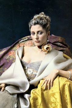 HRH Princess Marie Chantal by David Seidner