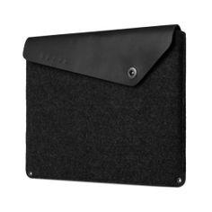 Mujjo Sleeve voor MacBook Air  MacBook Pro Retina 13 (Zwart)