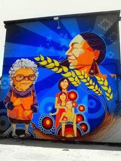 Street Art Museo a Cielo Abierto in Chile, Santiago, San Miguel 11