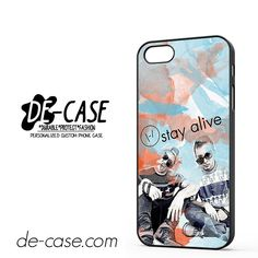Twenty One Pilots Watercolor Stay Alive DEAL-11484 Apple Phonecase Cover For Iphone SE Case
