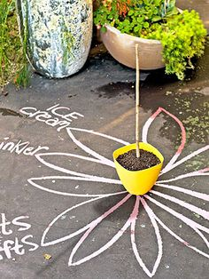 Make a Backyard Summer Camp Timekeeper: Set up this simple sundial, then keep the fun on track every day thereafter.