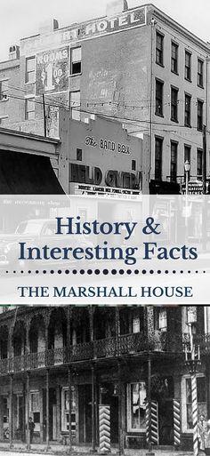 Marshall House Savannah History - Oldest Hotels in Savannah Historic District