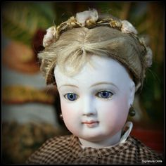 "Lovely 18"" French Fashion Lady Doll with Bisque Arms from signaturedolls on Ruby Lane"