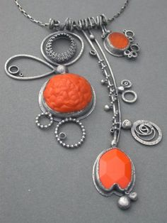 jaime jo fisher. Love this jewelry maker's work. Such a distinctive style, always recognize it immediately.