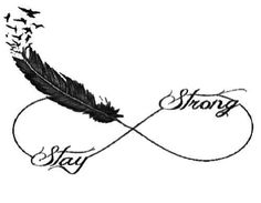 Love this! The infinity symbol, the feather transition with the kids names. Definitely going to get this but with color!