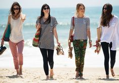 4 girls, 3 occasions during the day and many looks. More on http://www.pennyblack.com/en/montauk-diaries