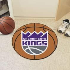 "NBA - Sacramento Kings Basketball Mat 27"" diameter"