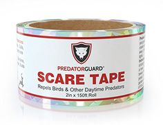 Bird Repellent Scare Tape - Instantly Repels Birds & Daytime Predators From Your Gardens  http://www.amazon.com/dp/B00MTN6J4M $13.99