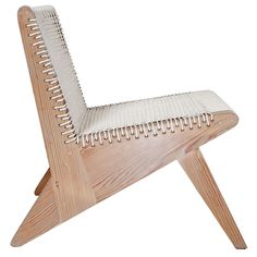 "wedge series ""arrowhead"" corded lounge chair - michael boyd - usa - contemporary"