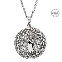 Picture of Tree Of Life Pendant With Swarovski Crystals