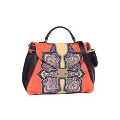 OOOK - Etro - Women's Accessories 2013 Spring-Summer - LOOK 50 |... ❤ liked on Polyvore