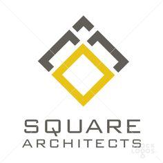 nice geometric shape and simple colors make this logo effective. Name Design, Logo Design, Graphic Design, Geometric Logo, Geometric Shapes, Tile Logo, Architecture Design, Square Logo, Make Your Logo