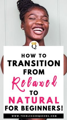 How To Transition To Natural Hair For Absolute Beginners! - The Blessed Queens How To Transition To Natural Hair For Absolute Beginners! - The Blessed Queens Long Hair Tips, Natural Hair Tips, Long Curly Hair, Natural Skin Care, Curly Hair Styles, Natural Hair Styles, Natural Beauty, Make Up Tools, Queens