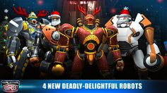 Reliance Games Releases Holiday Updates for 'Real Steel World Robot Boxing' and 'Real Steel' | PocketFullOfApps