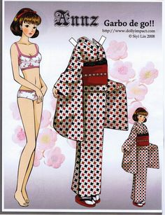 Artist Siyi Lin Paper Doll Hollywood Movie Star Collection | Katerine Coss - Picasa 웹앨범