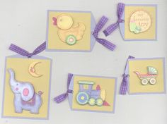 Homemade handmade premade MY FAVORITE TOY paper piecing scrapbook TAGS baby #homemade