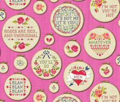 Jaded Valentine fabric by cerigwen on Spoonflower - custom fabric