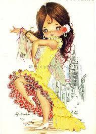 vintage flamenco cards - Google zoeken