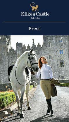 Kilkea Castle in the Media: Christy Cashman's Fairytale Life Includes a Castle.