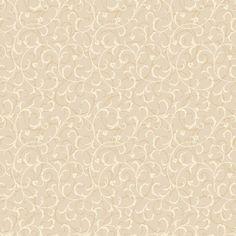 "Gentle Manor 27' x 27"" Swirl Scroll Distressed Wallpaper"
