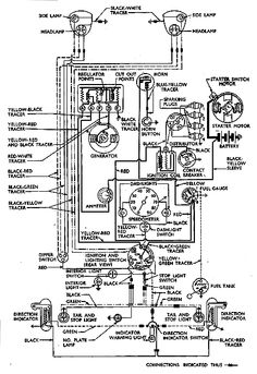 ford workmaster 601 tractor wiring diagram ford 601 workmaster wiring diagram starter wiring diagram for '59 workmaster 601 - yesterday's ...
