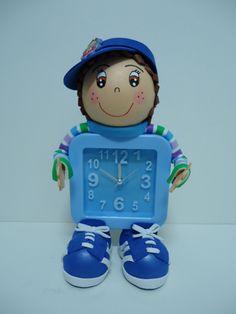 FofuRelojes Niños - Goma Eva - Relojes