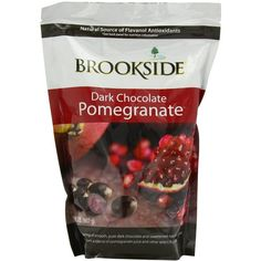 Amazon.com : Brookside Dark Chocolate, Pomegranate, 32 Ounce : Candy... (150 NOK) ❤ liked on Polyvore featuring food